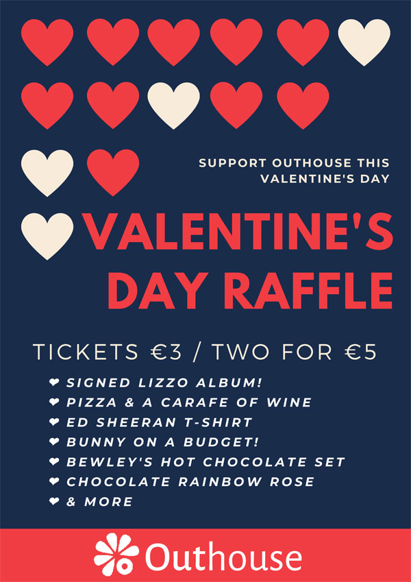 Valentine's Day Hamper - Support Outhouse & Buy a Raffle ticket