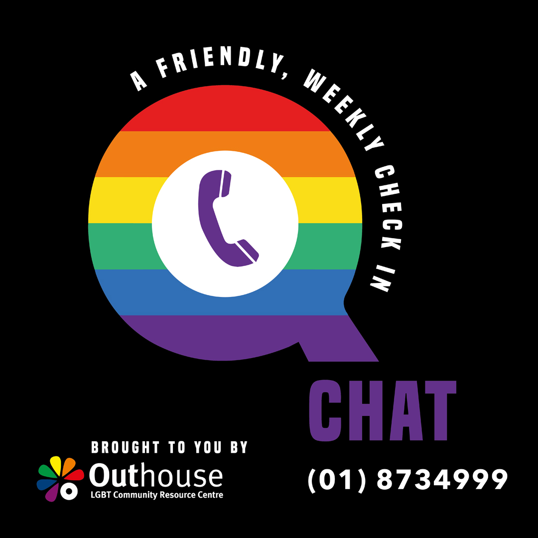 Q-CHAT: a friendly chat & check in from Outhouse